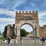 Arka Avgusta v Rimini. Arco di Augusto. Rimini 150x150 - Римини (Rimini). Начало и отправная точка.