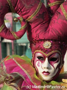 Arlekin 1 225x300 - Карнавал в Венеции