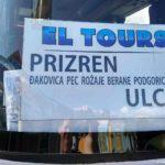 Avtobus Prizren Ulcin CHernogoriya na avtovokzale Pech. Kosovo. Kosovo 150x150 - Печ (Peje), Приштина, Железные дороги Косово. Kosovo