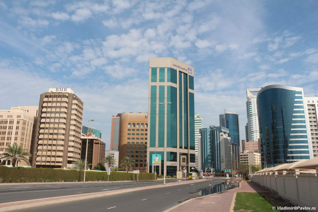 Bahrejn. Diplomatic Area Diplomaticheskij rajon Manamy. Manama Bahrain 1024x683 - Прогулка по столице Бахрейна, Манаме