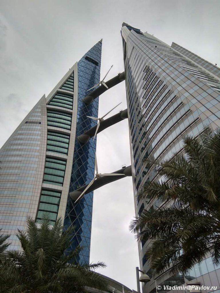 Bahrejnskij vsemirnyj torgovyj tsentr. Bashni. Bahrejn. Bahrain World Trade Center Manama 768x1024 - Прогулка по столице Бахрейна, Манаме