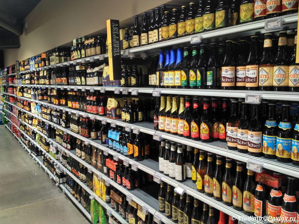 Belgijskoe pivo v supermarkete - Бельгия. Бельгийское пиво. Ипер (Ieper). Первая мировая война. 10