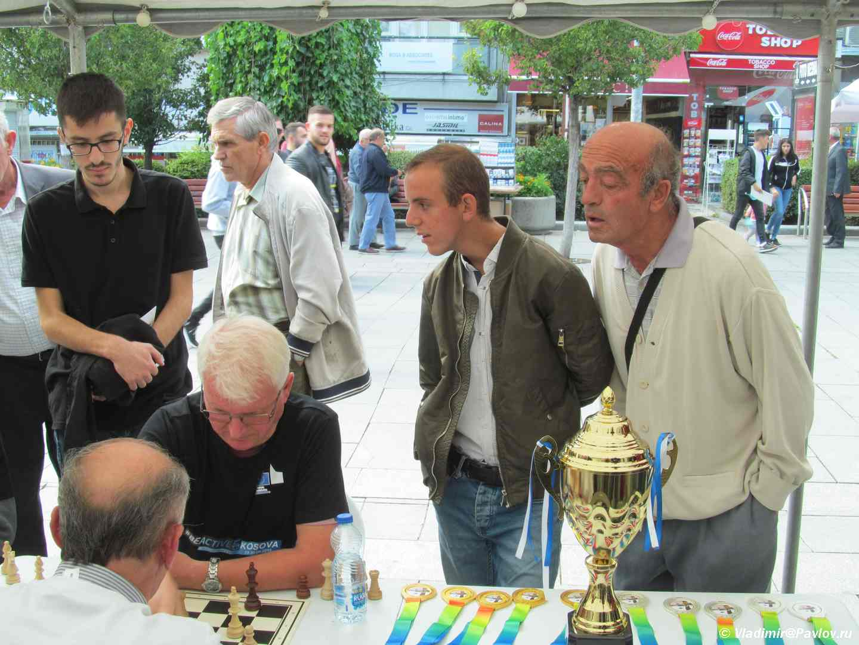 "Bolelshhiki v Kosovo. Kosovo - Приштина, ""Министр шахмат"" Косово"