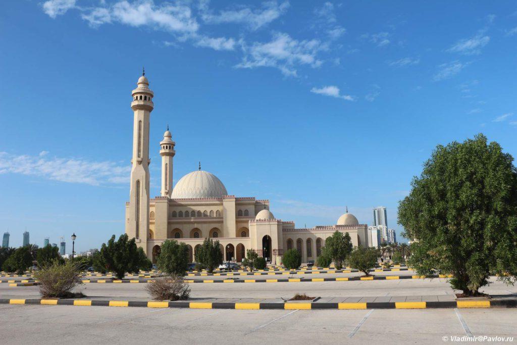 Bolshaya mechet Al Fatih v Maname. Bahrejn. Al Fatih Mosque Manama 1024x683 - Соборная мечеть Аль-Фатих в Манаме. Al-Fatih Mosque / Great Mosque