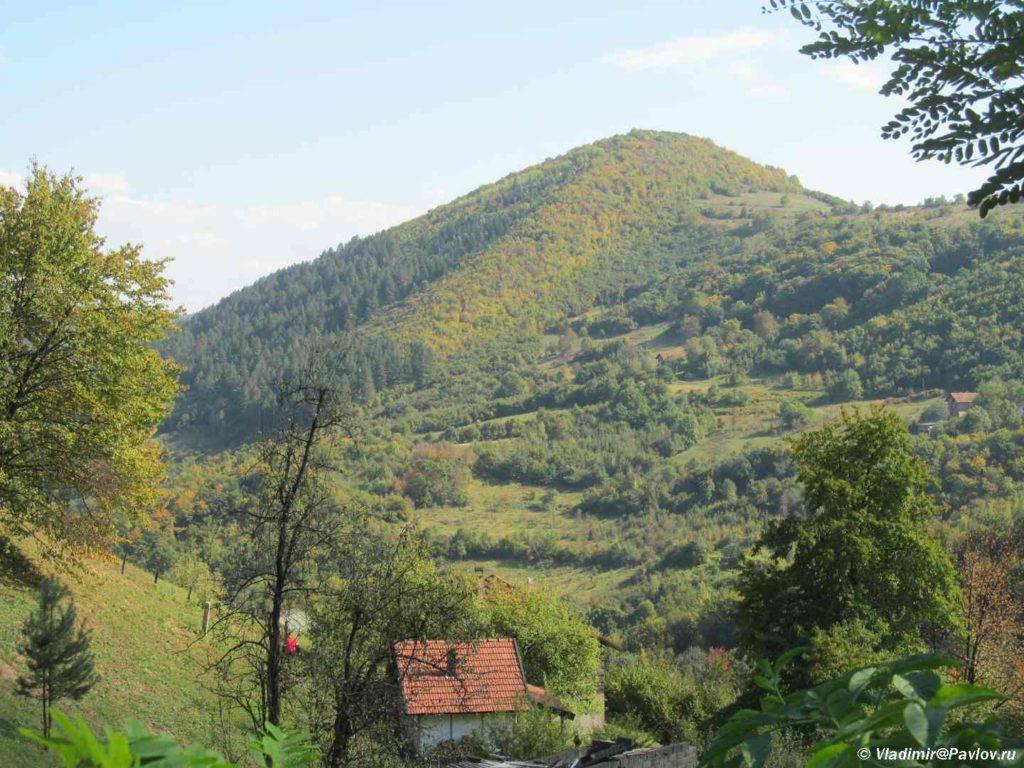Bosnijskie piramidy. Piramida Solntsa. Bosniya i Gertsegovina 1024x768 - На вершине пирамиды Солнца в Боснии