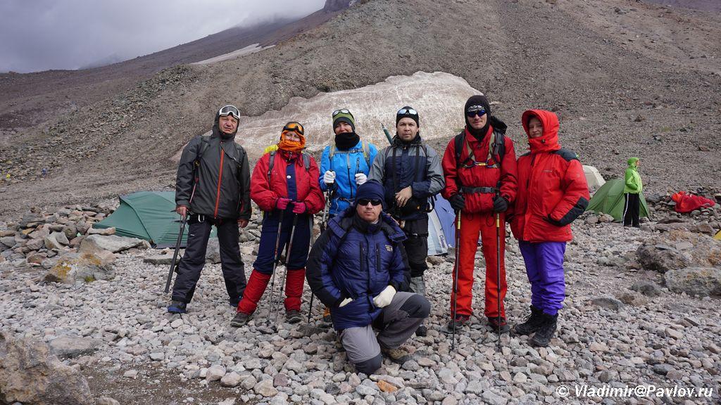 Bravye alpinisty gotovye k lyubym neozhidannostyam - Как найти группу попутчиков на Казбек. 3