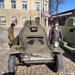 Bronirovannaya mashina gotova k paradum 150x150 - 9 мая в Выборге. Праздник на Красной площади, парад ретротехники военных лет