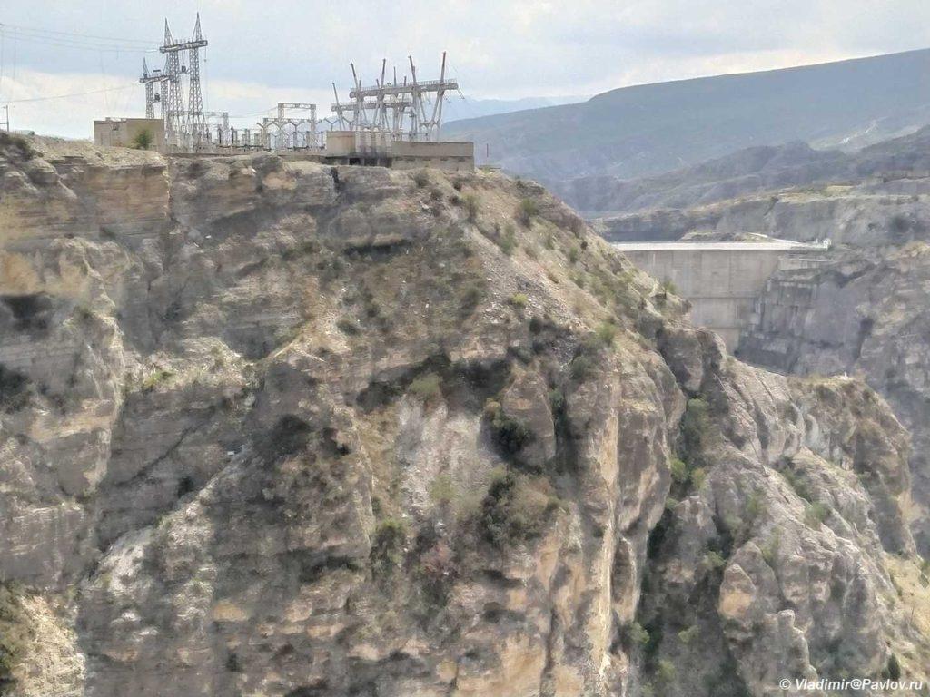 CHirkejskaya GES i damba. Dagestan 2 1024x768 - В Сулакский каньон. Продолжение