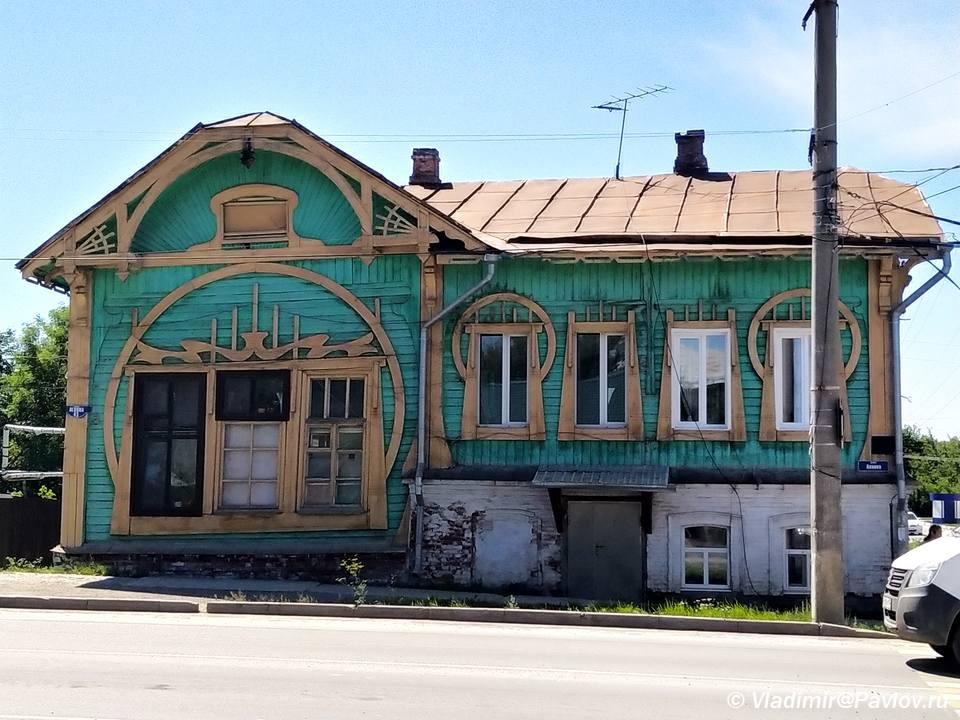 Derevyannyj dom v Kungure - Кунгур. Достопримечательности