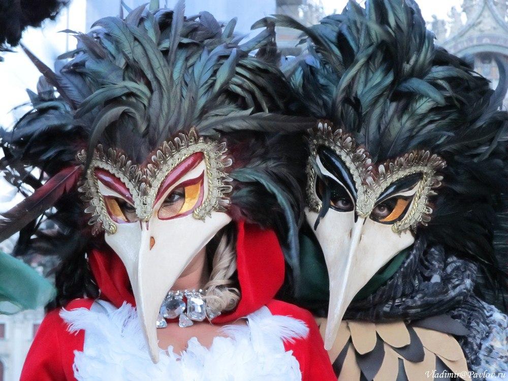 Dve maski 1 - Карнавал в Венеции