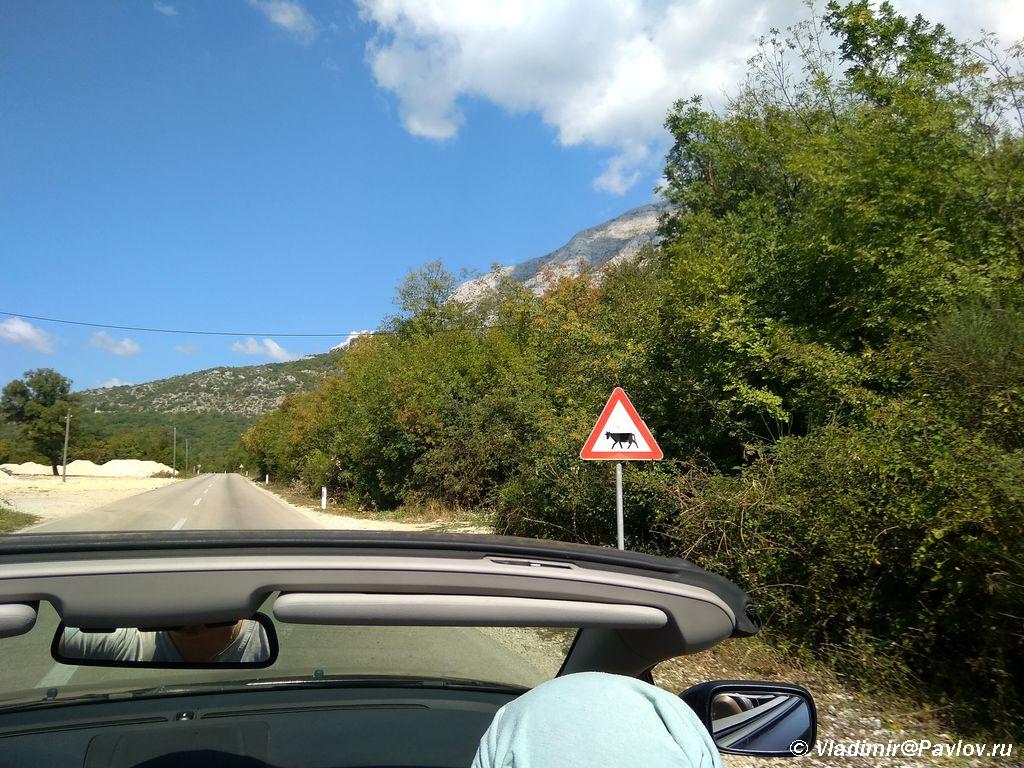 Edem po doroge k punktu perehoda iz CHernogorii v Bosniyu i Gertsegovinu - TaxFree в Черногории. Заманчивое предложение