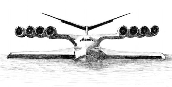 Ekranoplan KM - Экраноплан «Лунь», «Каспийский монстр»