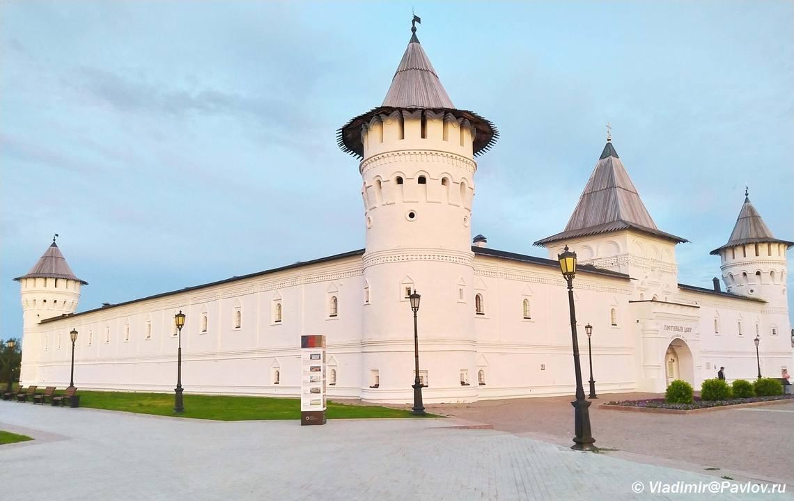 Ekskursiya po Tobolskomu kremlyu i gostinomu dvoru - Прогулка по Тобольскому кремлю