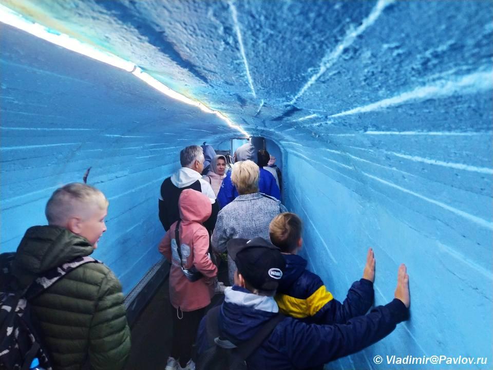 Ekskursiya v Kungurskuyu peshheru - Кунгурская ледяная пещера