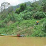 Esli k vode est tropa znachit ryadom derevnya. Mekong. Laos 150x150 - Круиз на лодке по Меконгу