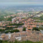 Funikulet v San Marino i vid na nizhnij gorod 150x150 - Республика Сан Марино. Самостоятельная экскурсия. Начало.