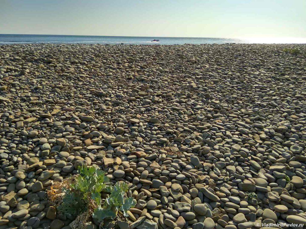 Galechnyj plyazh v Utrishe 1024x768 - Утриш. Жизнь на море.