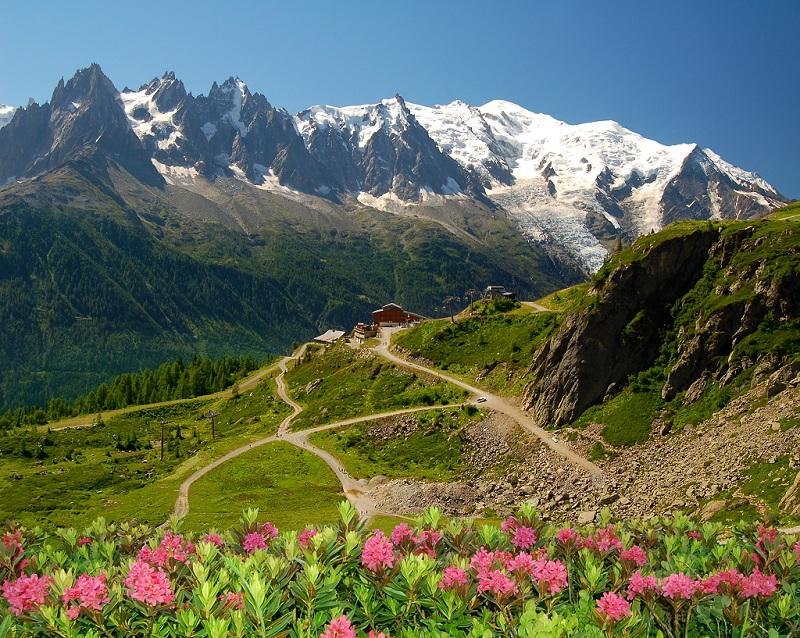 Gora Monblan Alpy - Восхождение на Монблан (4,808 м), летом 2020, самостоятельно