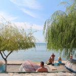 Gorodskoj plyazh v Ohride. Makedoniya 150x150 - Жилье в Охриде. Охридское озеро, пляжи.