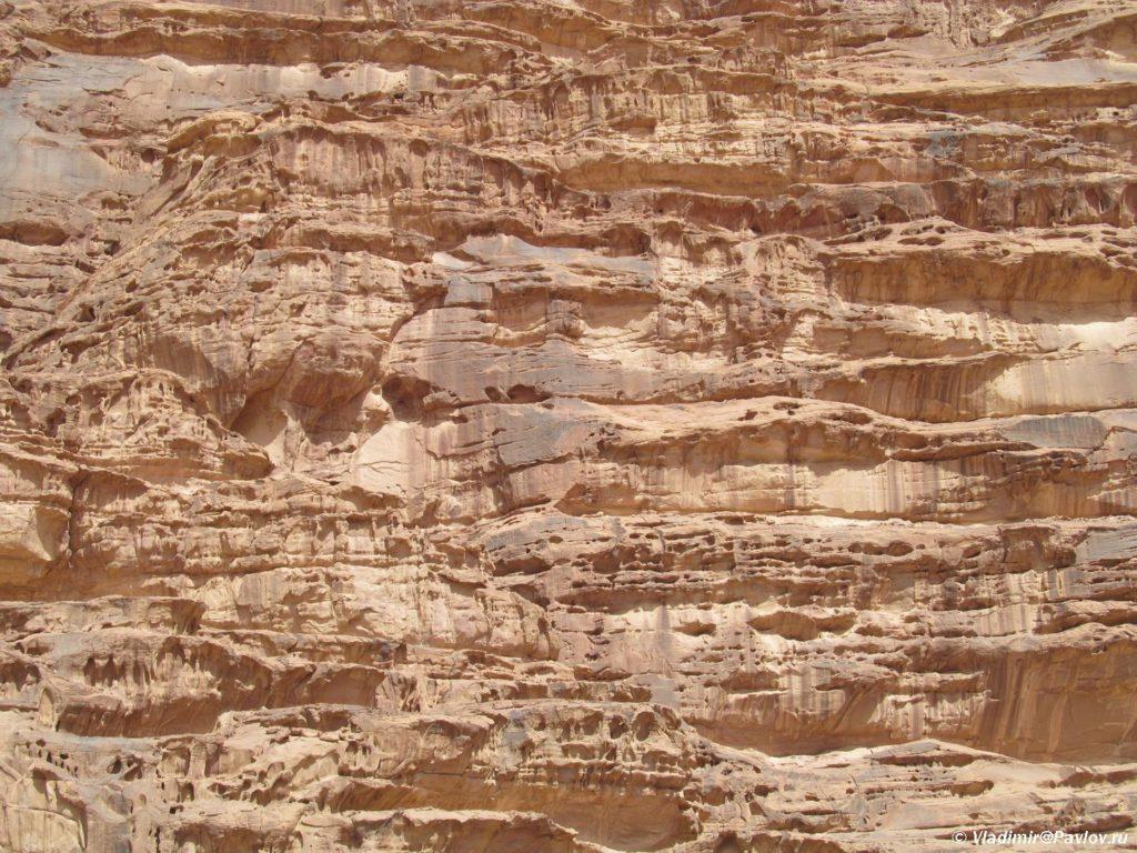 Gory pustyni Vadi Ram eto byvshee dno mirovogo okeana. Iordaniya. Wadi Rum Jordan 1024x768 - Каньоны в пустыне Вади Рам (Wadi Rum). Иордания.