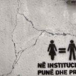 Graffiti v Prishtine neopredelennogo soderzhaniya. Prishtina. Kosovo. Kosovo. Pristina 150x150 - Достопримечательности Приштины. Балканский трэш. Pristine, Kosovo