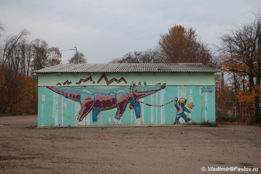 Graffiti v Pskove - Гармонисты. Выступления на гармони, народные традиции
