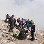 Gruppa gornyh turistov na perevale Skala. Gora Olimp Gretsiya 150x150 - Туры на Олимп. Перевал Скала.
