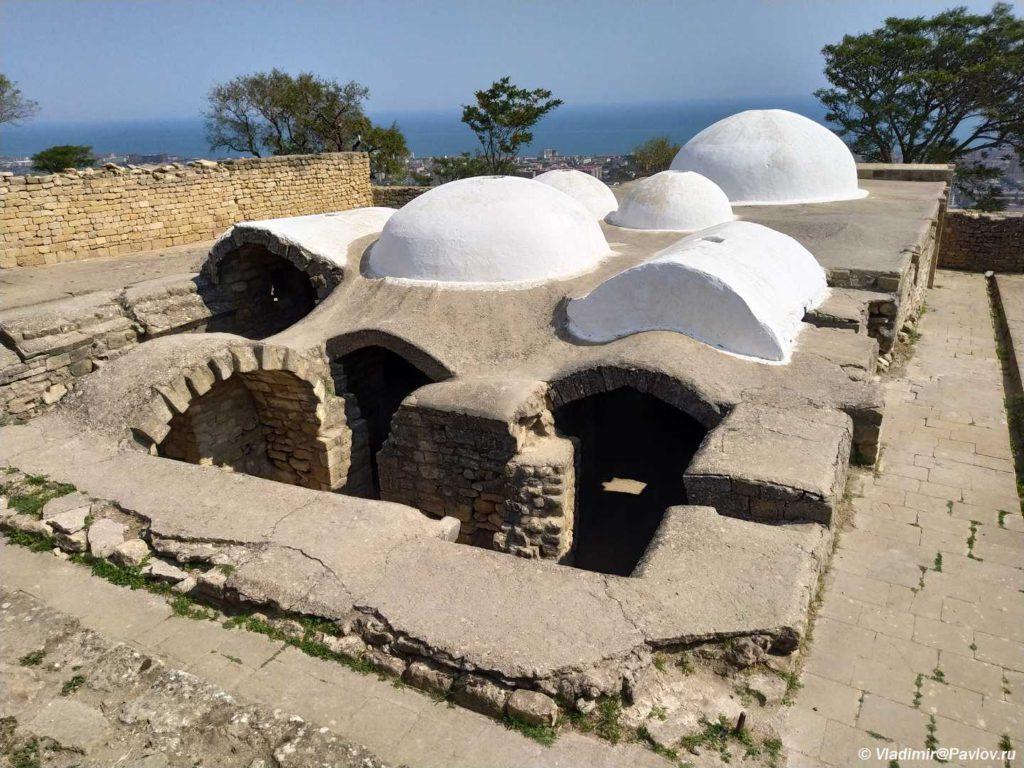 Hanskie bani kreposti Naryn Kala v Derbente 1024x768 - Дербентская крепость