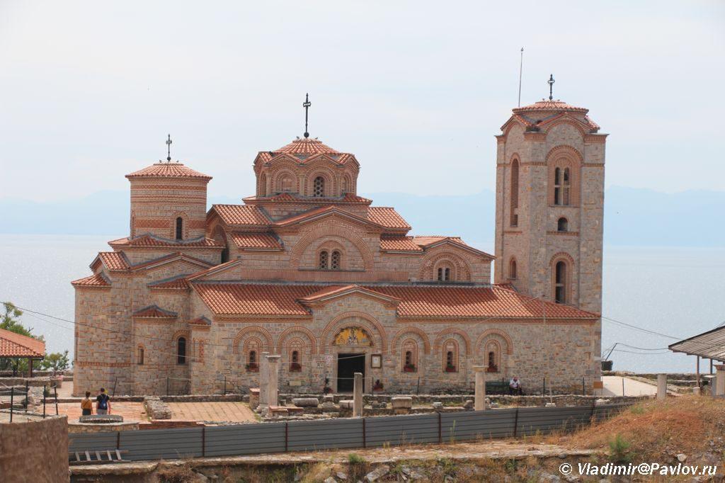 Hram na puti k Kreposti Samuila v Ohride 1024x682 - На пути в Самуилову Крепость. Охрид.