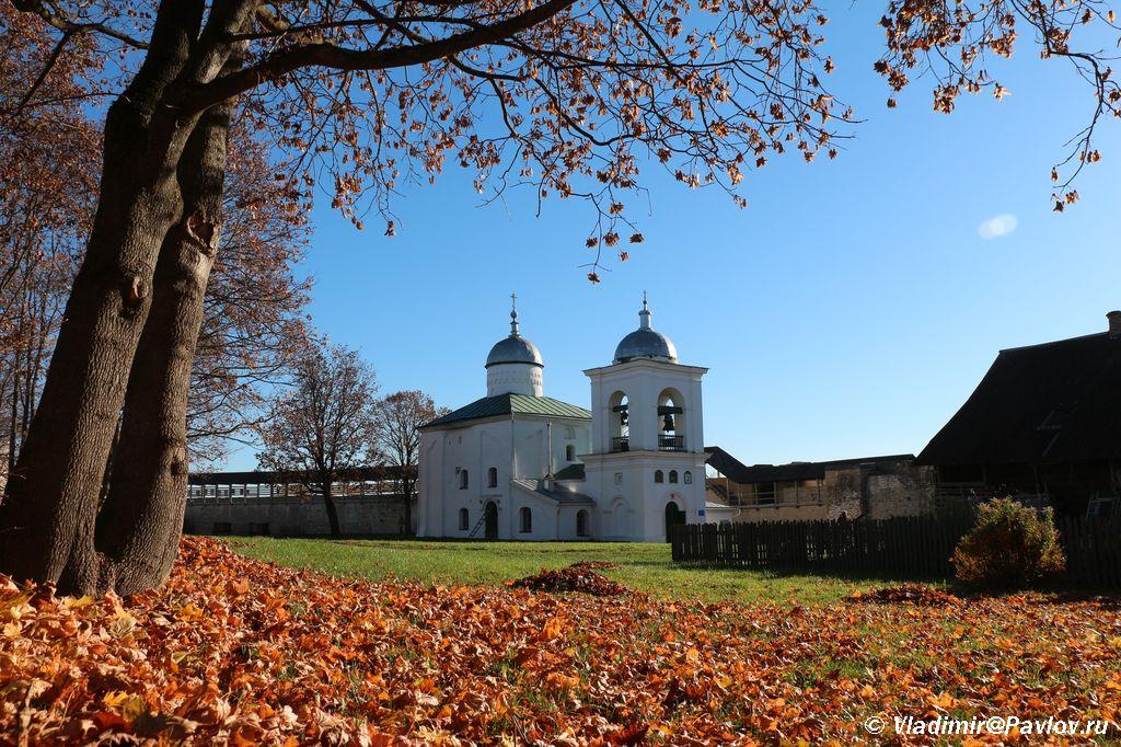 Izborskaya Krepost Nikolskij Sobor - Изборская крепость