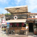 Kafe na naberezhnoj Ohrida 150x150 - Старый город Охрида. Экотропа. Сила Охридского озера.