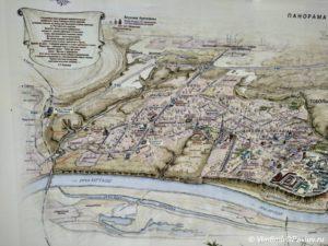 Karta dostoprimechatelnostej Tobolska 300x225 - Карта достопримечательностей Тобольска