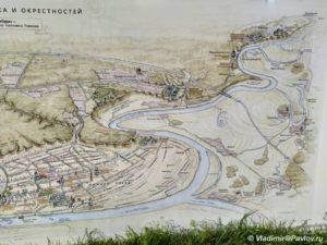 Karta dostoprimechatelnostej Tobolska i okrestnostej 300x225 - Карта достопримечательностей Тобольска и окрестностей