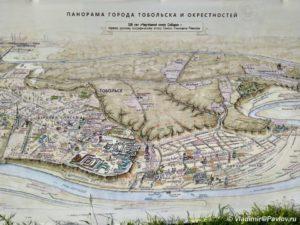 Karta dostoprimechatelnostej okrestnostej Tobolska 300x225 - Карта достопримечательностей окрестностей Тобольска