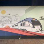 Kartina na zheleznodorozhnom vokzale v Mostare 150x150 - Достопримечательности Боснии. Из Сараево в Мостар (Mostar) на поезде