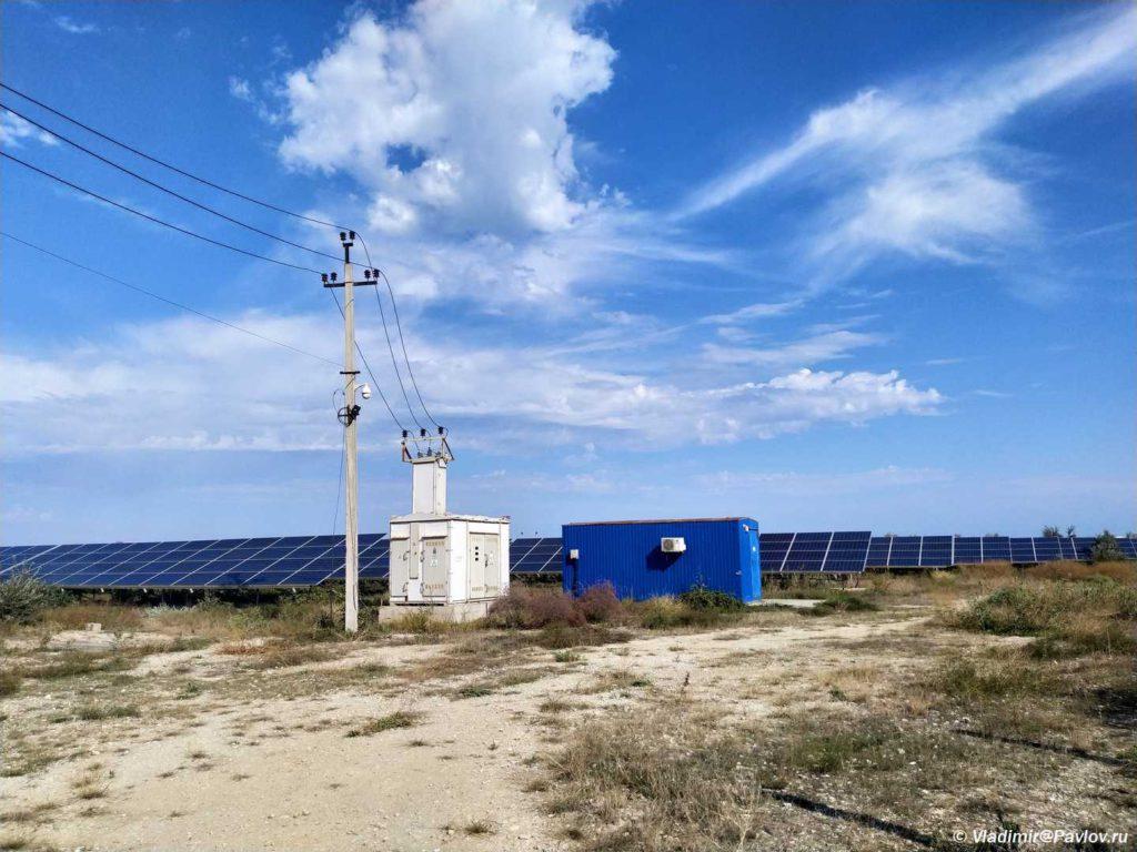 Kaspijskaya solnechnaya elektrostantsiya. Dagestan  1024x768 - «Каспийский форт Боярд», дорога в Махачкалу