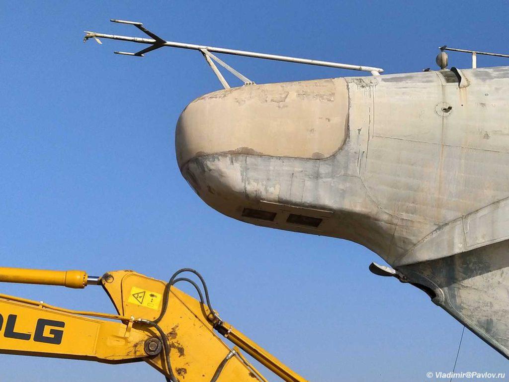 Kaspijskij monstr raketnyj ekranoplan Lun 1024x768 - Экраноплан «Лунь», «Каспийский монстр»
