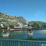 Krepost Rozafa v SHkodre i reka Drin vpadayushhaya v SHkodarskoe ozero. Albaniya 150x150 - Албания. Шкодер (Shkodër, Shkodra, Скадар).