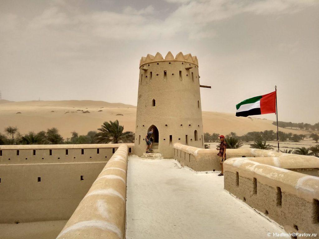 Krepost v Arabskih Emiratah 1024x768 - По Эмиратам с палаткой: Итоги