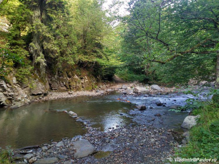 Kurortnyj park Borzhomi ne otlichish ot lesa 750x563 - Грузия. Боржоми и Батуми в палатке. 22