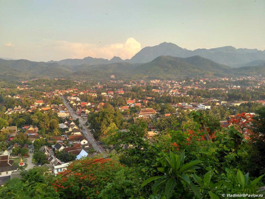 Luanphabang Laos. Lao. Luang Prabang 1024x768 - Храмы и Закаты на Храмовой Горе Пху Си (Phu Si Mount)
