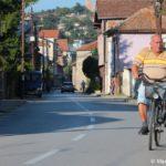 Makedonets na velosipede. Ohrid 150x150 - Жилье в Охриде. Охридское озеро, пляжи.