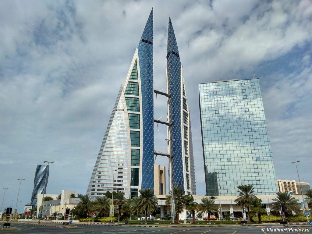 Manama. Bahrejnskij vsemirnyj torgovyj tsentr. Bahrain World Trade Center Manama 1024x768 - Покупки, шопинг, сувениры в Манаме. Что привезти из Бахрейна
