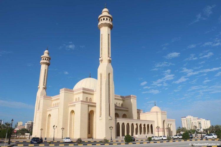 Mechet Al Fatih v Maname. Al Fatih Mosque Manama 750x500 - Соборная мечеть Аль-Фатих в Манаме. Al-Fatih Mosque / Great Mosque
