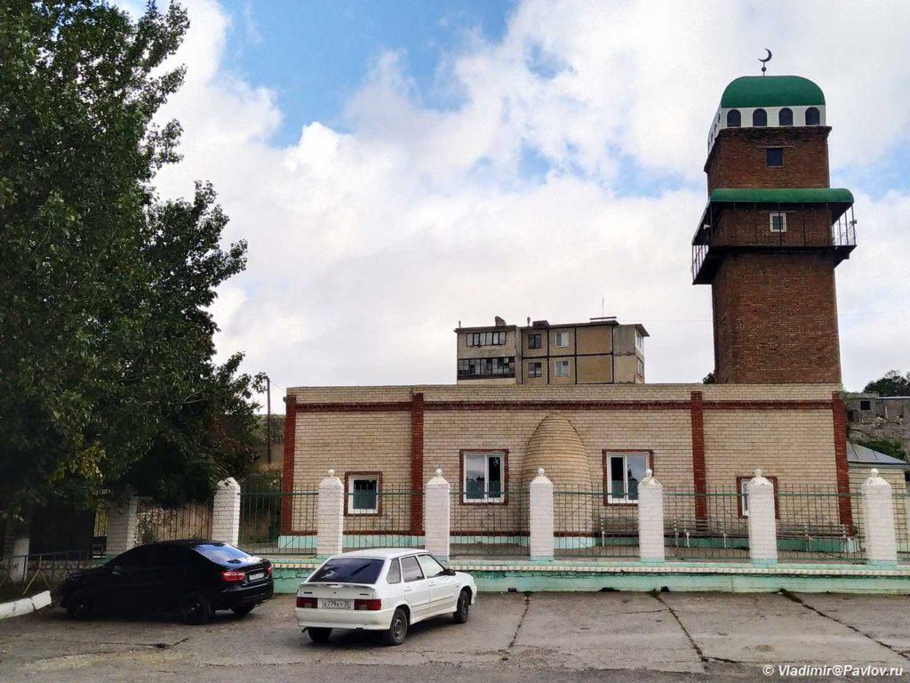 Mechet v poselke Dubki. Sulakskij kanon. Dagestan 1 1024x768 - ГлавРыба. Сулакский каньон