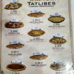 Menyu kafe Donner Salona Istanbul Tatlises v Prishtine. Kosovo. Kosovo. Pristina 150x150 - Продукты, покупки, еда в Приштине. Косово