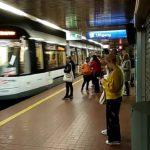 Metrotram v Antverpene uezzhaet so stantsii 150x150 - Бельгия. Антверпен. Antwerpen. 7