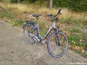 Moj velosiped v Mons 300x225 - Бельгия. Самостоятельно, без туров. Дракон в Монс. 1