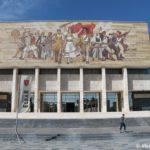 Mozaika na natsionalnom muzee Albanii v Tirane 150x150 - Тирана. Черная Ауди. Достопримечательности.
