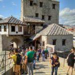 Na Starom Mostu v Mostare. Bosniya i Gertsegovina Mostar 150x150 - Старый Мост (Stari most) - достопримечательность в Мостаре (Mostar)